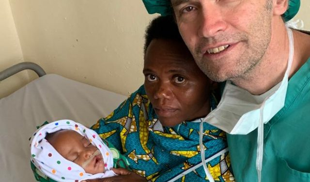 Humanitärer Einsatz in Afrika